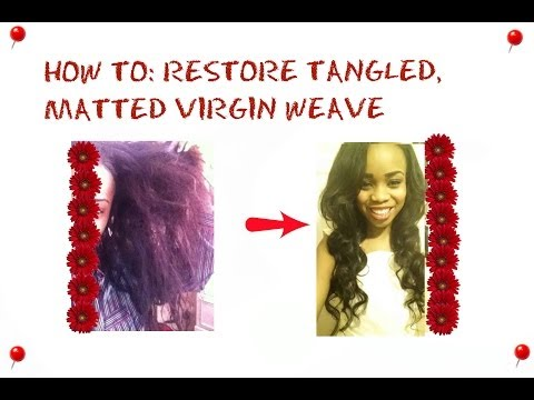HOW TO || RESTORE BRITTLE, DRY, TANGLED HAIR