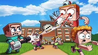 Minecraft | BULLY.EXE VS BASE - Giant Bully