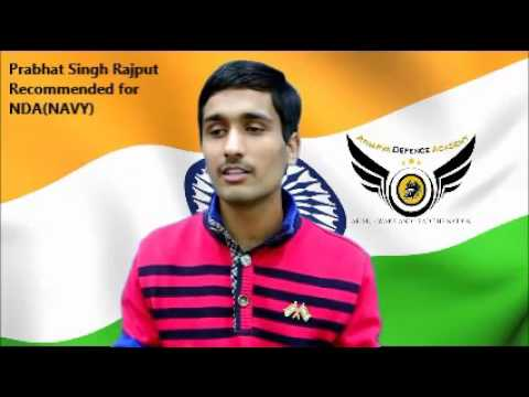 Cadet Prabhat Singh Rajput selected in NDA(Navy)