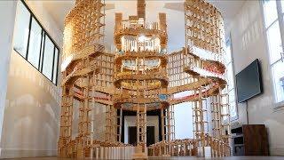 Building The SPECTACULAR Kapla Colosseum! (w/ Kaplamino & Benjamin Crouzier)