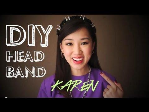 DIY | Spiked & Flower Headband Tutorial