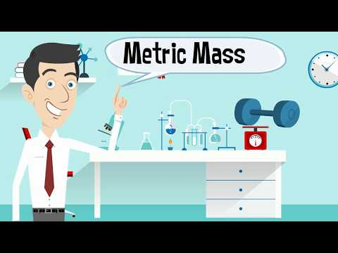 What is the metric unit for measuring mass?
