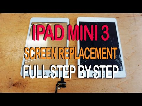 iPad Mini 3 Screen Replacement - Full Tutorial