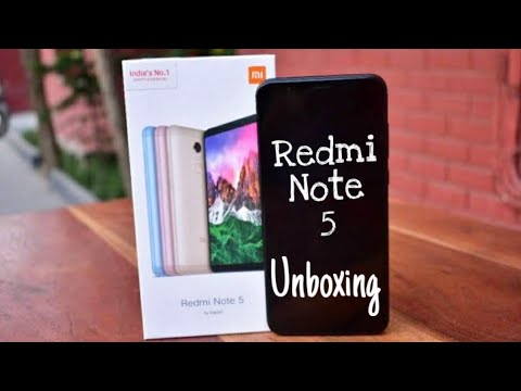 Xiaomi Redmi Note 5 Unboxing Smartphone & Overview