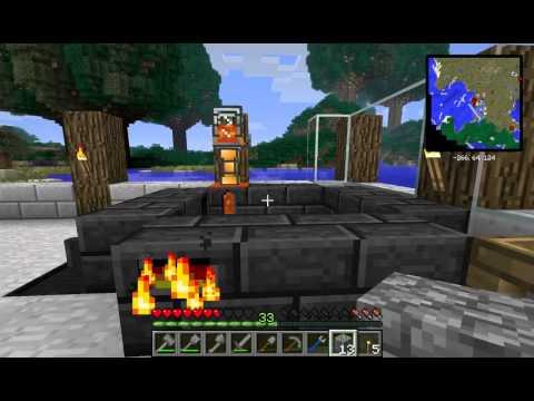 Minecraft FTB Direwolf (S2E6) :: Automated Clear Glass Production (S2E6)