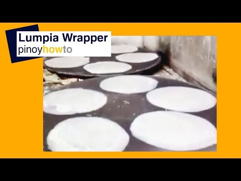How to make lumpia wrapper | Pinoy How To