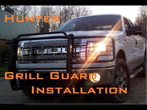 Hunter Brush Guard Install on 2011 F150