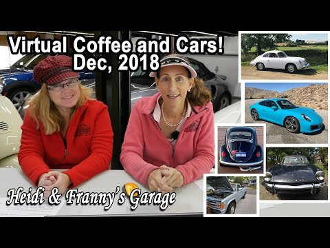 Virtual Coffee and Cars - December 2018