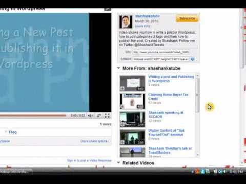 How to add Pictures and Videos in a Wordpress Blog