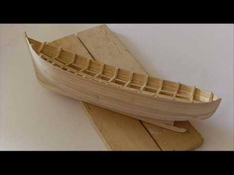 Model-Making - Making of a Fishing Boat Model