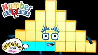 Steps Versus Squares | Numberblocks | CBeebies