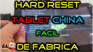 Hard Reset 99% of tablets /mobile phones android chinese