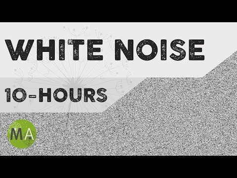10-Hours of White Noise, for Sleep, Blocking out Distracting Noises, Tinnitus, Relaxation
