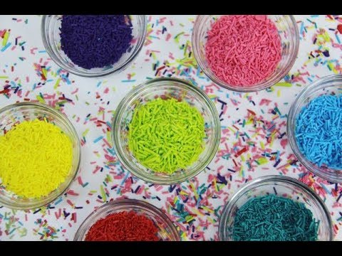How To Make Your Own SPRINKLES!
