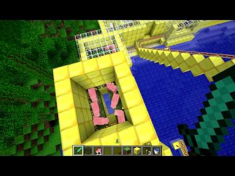 Minecraft Cooked Porkchop Factory