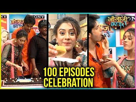 Jijaji Chhat Par Hai 100 Episodes Celebration | Cake Cutting & Chaat Party
