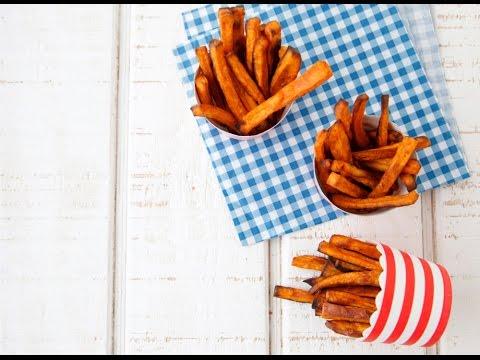 Cinnamon Sweet Potato Fries - Healthy Snacks - Weelicious