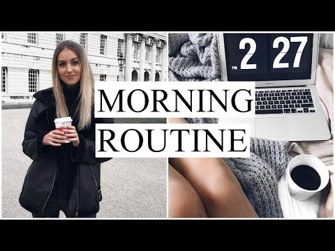 MY MORNING ROUTINE | WINTER 2017