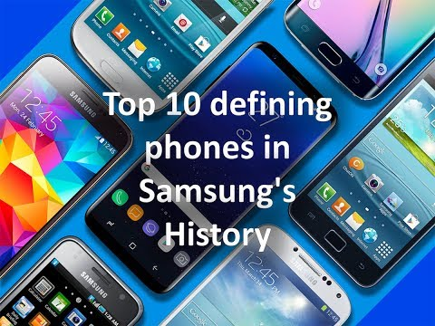 Top 10 defining phones in Samsung's History