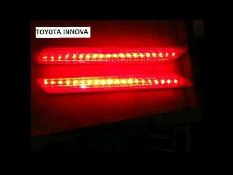 LAMPU LED BUMPER CAT EYE BELAKANG UNTUK MOBIL Toyota INNOVA