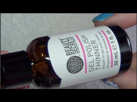 Beauty Secrets Gel Polish Thinner: Review & Demo