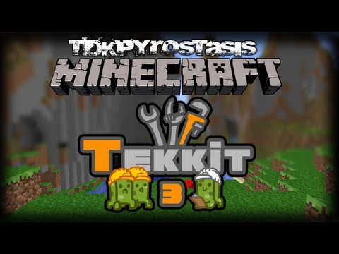 Minecraft Technic S1E9 Playing with Forestry and Quarries!