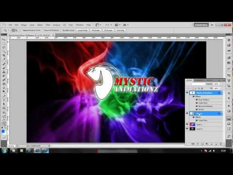 Abstract Wallpaper tutorial + FREE ABSTRACT BRUSH DOWNLOADS