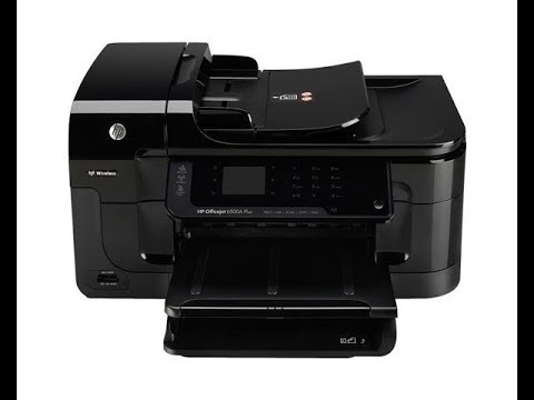 Hp Officejet 6500a  - HOW TO CLEAN PRINTHEAD