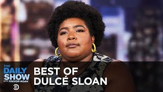 The Best of Dulcé Sloan - The Border Wall, Doug Jones's Upset & Black 911 Operators | The Daily Show