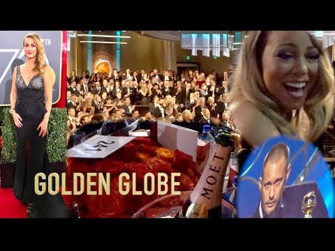 When I Tripped (On The RED Carpet) + Golden Globe Fab And Funny Moments With The Stars
