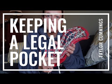 How to keep a legal pocket!   Taylor Cummings