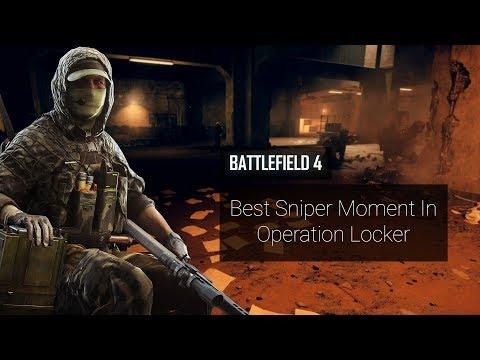 Operation Locker Best Sniper Moments Battlefield 4