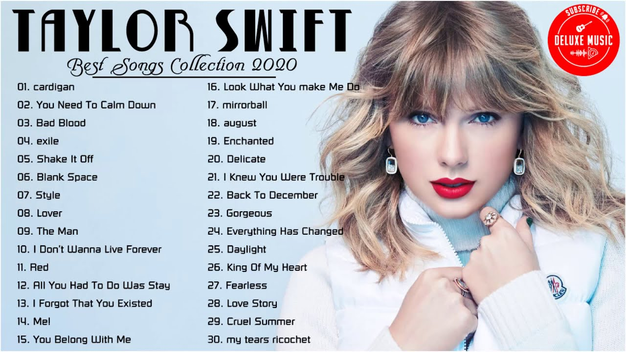 TaylorSwift Playlist - TaylorSwift Best Songs - TaylorSwift Greatest Hits - Best Songs Collection