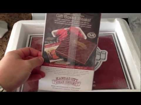 Kansas City Steaks Unboxing