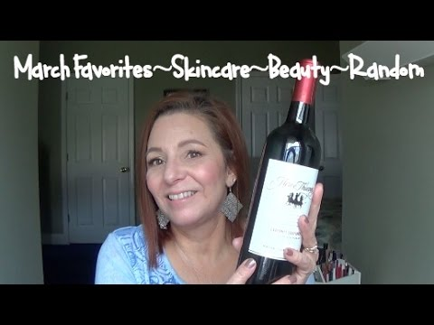 March Favorites~Skincare~Beauty~Lifestyle~Mature Beauty