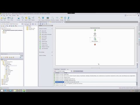 Automation basics in Toad for SQL Server (Part 2)