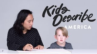Kids Describe America to Koji the Illustrator | Kids Describe | HiHo Kids
