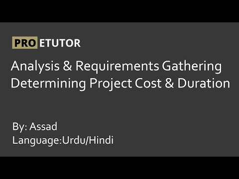 Analysis and Requirements Gathering in Urdu/Hindi