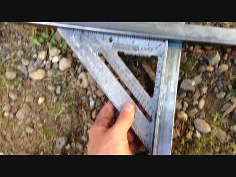 Welding Fabrication Project-New Metal Framed Shed Door Build