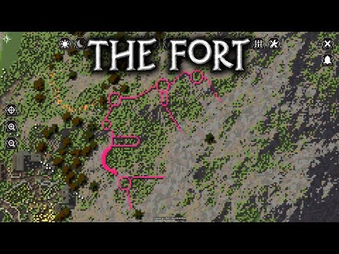 Minecraft: Fort Skalar - Ep1 Planning (Let's Build)
