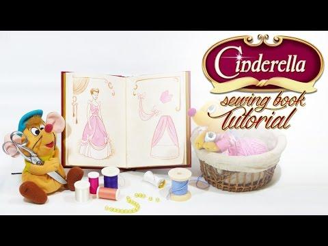 Disney DIY - Cinderella's sewing book tutorial