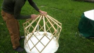 Dog House Yurt From Clean Air Yurts