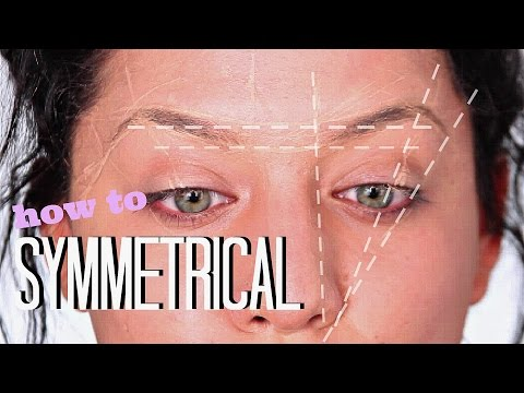 HOW TO | Symmetrical BROWS(with thread)