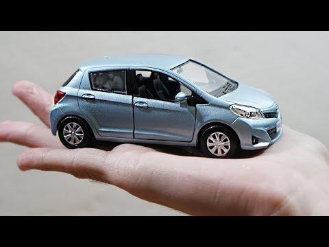 Toyota Yaris/Vitz 2012 1:36 Scale Diecast Model Car