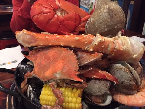 MASSIVE! Korean Fresh Seafood Hotpot