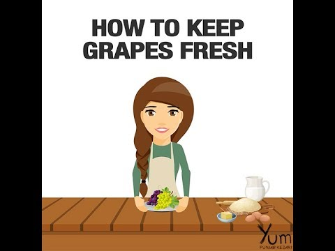 How to Keep Grapes Fresh