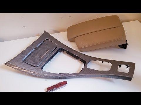 BMW M3 Split Armrest and 335is Dark Glacier Aluminum Trim Review