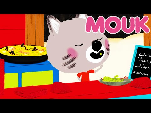 Mouk - Mouk in Spain ! Paella and the grapes of luck | Cartoon for kids