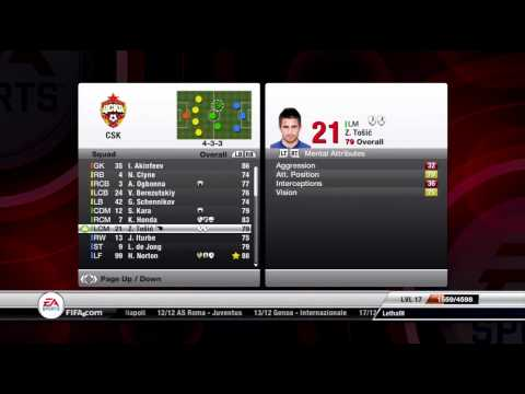 Fifa 12 My Career Mode-Young players to buy