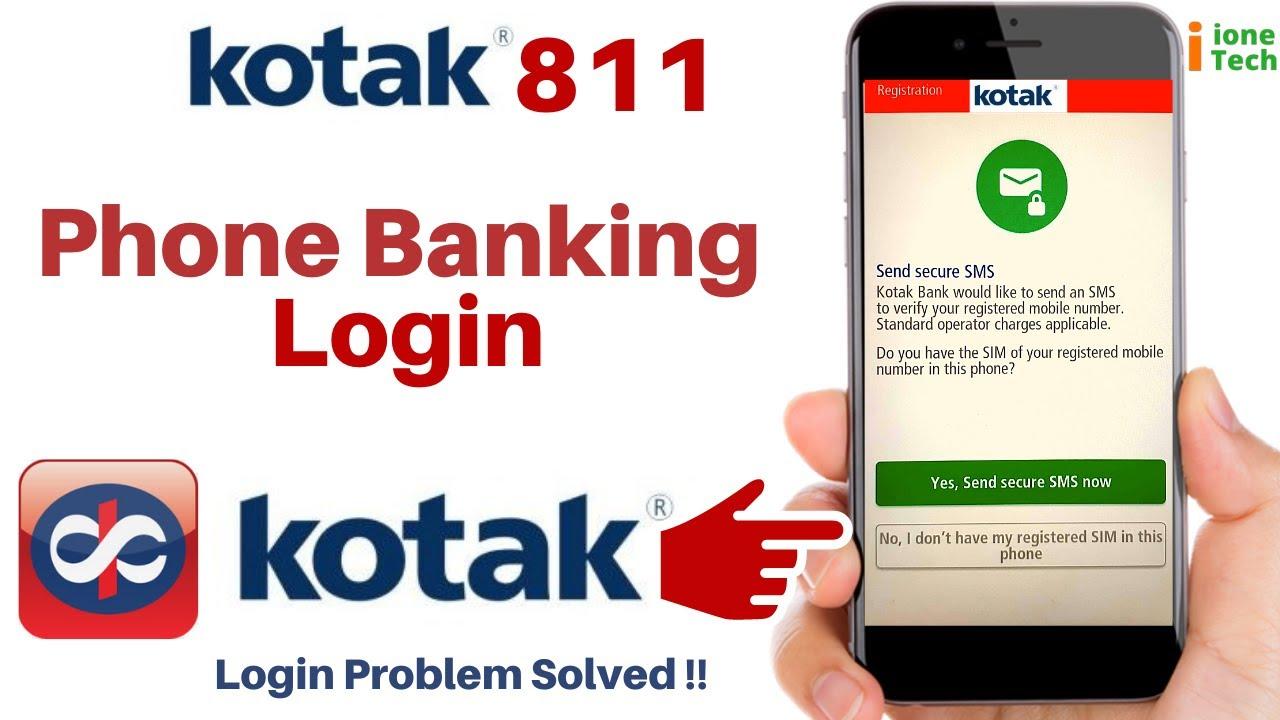 Download How to Login Kotak 811 App   kotak Phone Banking me kaise login kare   New Update problem Solved MP3 Gratis